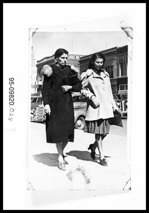 1940s Women in Downtown Abilene