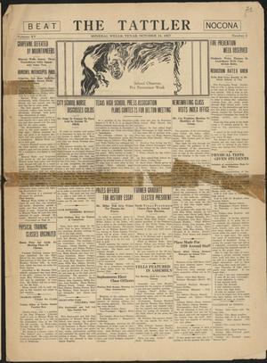 The Tattler (Mineral Wells, Tex.), Vol. 15, No. 3, Ed. 1 Friday, October 14, 1927