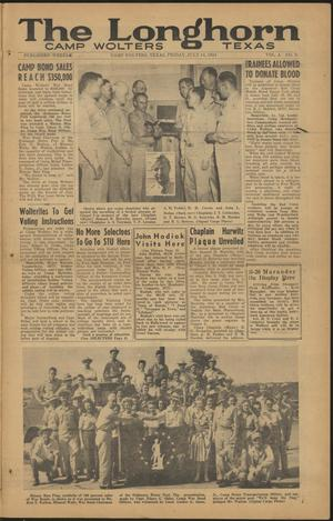 The Longhorn (Camp Wolters, Tex.), Vol. 4, No. 3, Ed. 1 Friday, July 14, 1944