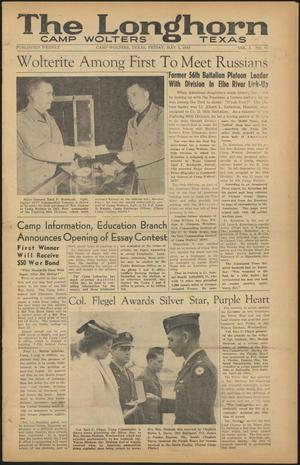 The Longhorn (Camp Wolters, Tex.), Vol. 4, No. 45, Ed. 1 Friday, May 4, 1945