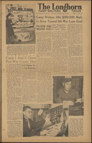The Longhorn (Camp Wolters, Tex.), Vol. 4, No. 21, Ed. 1 Friday, November 17, 1944