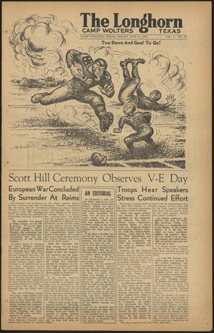 The Longhorn (Camp Wolters, Tex.), Vol. 4, No. 46, Ed. 1 Friday, May 11, 1945