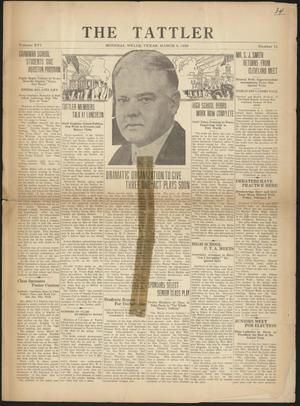 The Tattler (Mineral Wells, Tex.), Vol. 16, No. 11, Ed. 1 Friday, March 8, 1929