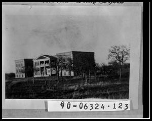 Primary view of object titled 'Girls Industrial Home, later Smith Hall at Hardin-Simmons University'.