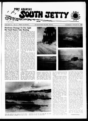 Primary view of object titled 'Port Aransas South Jetty (Port Aransas, Tex.), Vol. 10, No. 9, Ed. 1 Thursday, August 21, 1980'.