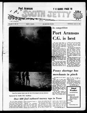 Primary view of object titled 'Port Aransas South Jetty (Port Aransas, Tex.), Vol. 11, No. 29, Ed. 1 Thursday, July 23, 1981'.