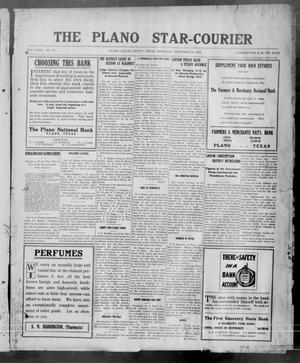Primary view of object titled 'The Plano Star-Courier (Plano, Tex.), Vol. 27, No. 17, Ed. 1 Thursday, September 23, 1915'.