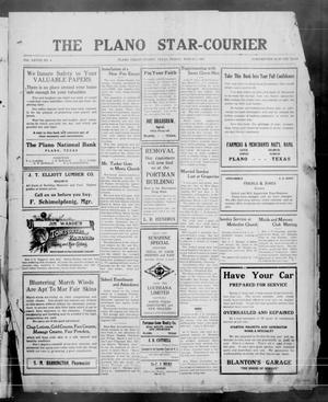 Primary view of object titled 'The Plano Star-Courier (Plano, Tex.), Vol. 29, No. 4, Ed. 1 Friday, March 9, 1917'.