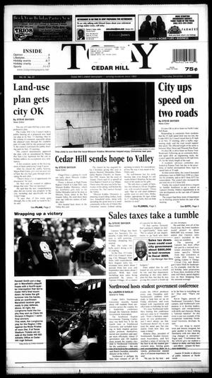 Primary view of object titled 'Today Cedar Hill (Duncanville, Tex.), Vol. 43, No. 27, Ed. 1 Thursday, December 4, 2008'.