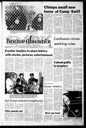 Primary view of object titled 'Bastrop Advertiser (Bastrop, Tex.), No. 15, Ed. 1 Thursday, April 19, 1979'.