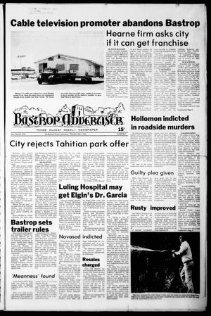 Primary view of object titled 'Bastrop Advertiser (Bastrop, Tex.), No. 37, Ed. 1 Thursday, July 5, 1979'.