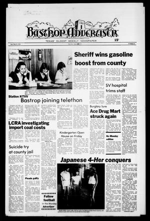 Primary view of object titled 'Bastrop Advertiser (Bastrop, Tex.), No. 53, Ed. 1 Thursday, August 30, 1979'.