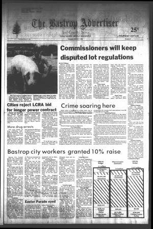 Primary view of object titled 'The Bastrop Advertiser and County News (Bastrop, Tex.), No. 5, Ed. 1 Thursday, March 17, 1983'.