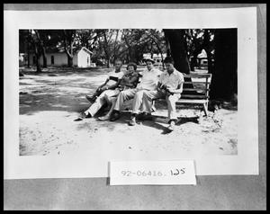 Primary view of object titled 'Four People on a Bench'.