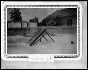 Primary view of object titled 'Swimming Pool Being Built'.