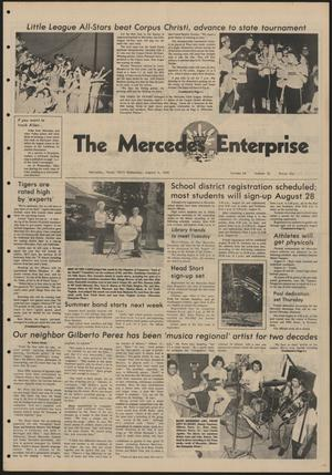 Primary view of object titled 'The Mercedes Enterprise (Mercedes, Tex.), Vol. 68, No. 32, Ed. 1 Wednesday, August 6, 1980'.