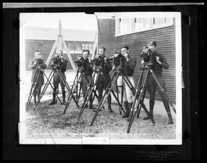 Primary view of object titled 'Six Men with Cameras'.