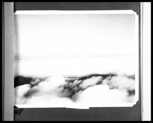 Primary view of object titled 'Clouds and Mountians from a Plane'.