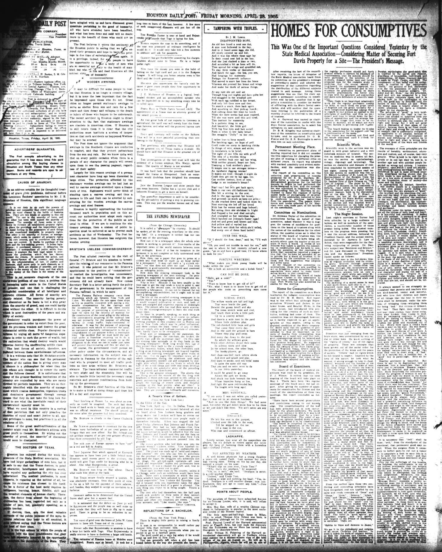 The Houston Post  (Houston, Tex ), Vol  21, No  44, Ed  1