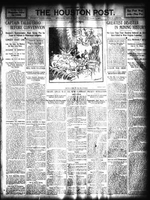 Primary view of The Houston Post. (Houston, Tex.), Vol. 23, Ed. 1 Saturday, December 7, 1907