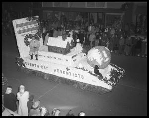 Primary view of object titled 'City Christmas Parade'.