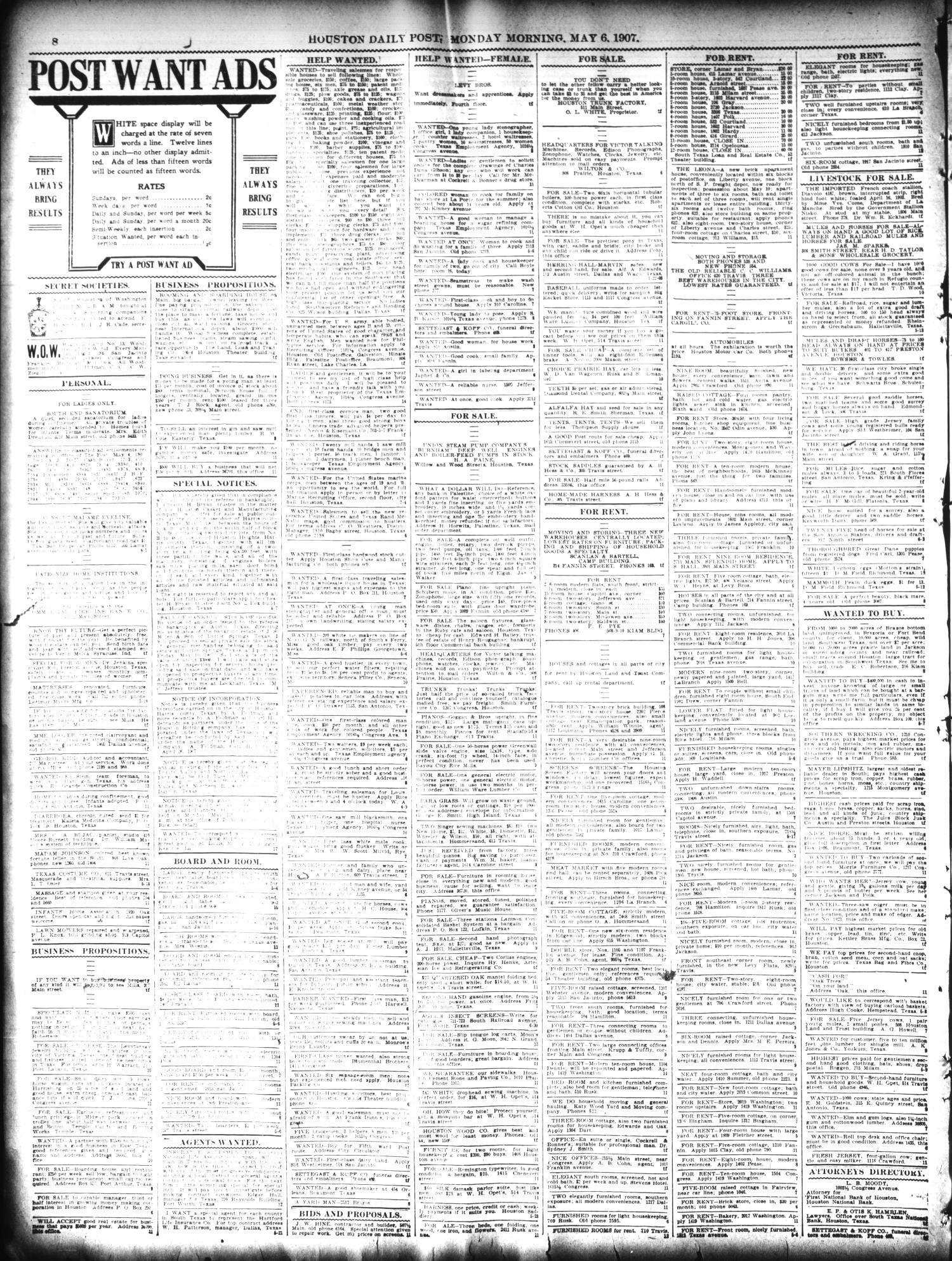 f52885a937 The Houston Post. (Houston