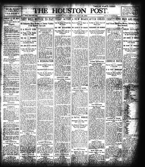 Primary view of object titled 'The Houston Post. (Houston, Tex.), Vol. 21, No. 129, Ed. 1 Saturday, July 22, 1905'.