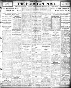 Primary view of The Houston Post. (Houston, Tex.), Vol. 22, Ed. 1 Saturday, August 25, 1906