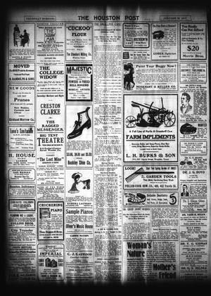 The Houston Post  (Houston, Tex ), Vol  22, Ed  1 Thursday