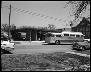 Primary view of object titled 'Continental Bus - New Building'.