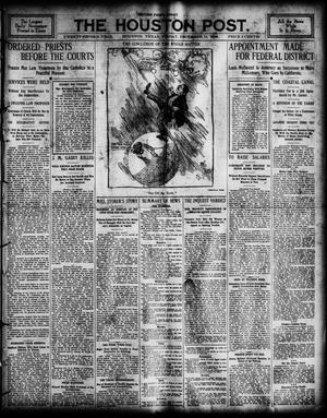 Primary view of The Houston Post. (Houston, Tex.), Vol. 22, Ed. 1 Friday, December 14, 1906