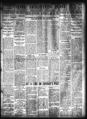 Primary view of object titled 'The Houston Post. (Houston, Tex.), Vol. 20, No. 249, Ed. 1 Saturday, November 19, 1904'.