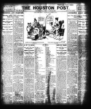 Primary view of object titled 'The Houston Post. (Houston, Tex.), Vol. 21, No. 165, Ed. 1 Sunday, August 27, 1905'.