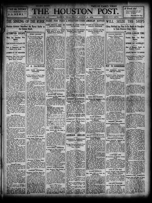 Primary view of object titled 'The Houston Post. (Houston, Tex.), Vol. 20, No. 137, Ed. 1 Friday, August 19, 1904'.