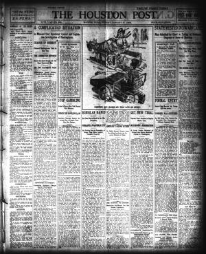 Primary view of object titled 'The Houston Post. (Houston, Tex.), Vol. 20, No. 308, Ed. 1 Tuesday, January 17, 1905'.