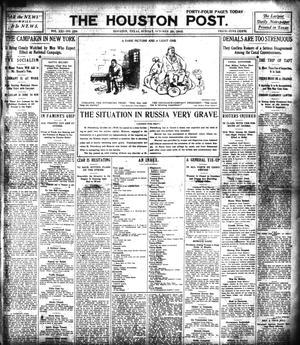 Primary view of The Houston Post. (Houston, Tex.), Vol. 21, No. 228, Ed. 1 Sunday, October 29, 1905