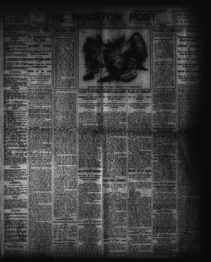 Primary view of object titled 'The Houston Post. (Houston, Tex.), Vol. 19, No. 195, Ed. 1 Saturday, October 17, 1903'.