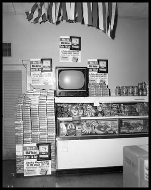 Primary view of object titled 'Kraft Cheese Display at Thornton's #2'.