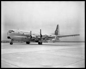 Primary view of object titled 'U. S. Air Force Cargo Plane'.