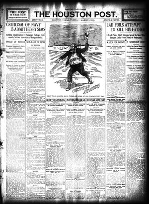 Primary view of object titled 'The Houston Post. (Houston, Tex.), Vol. 23, Ed. 1 Tuesday, March 3, 1908'.