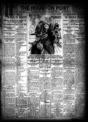 Primary view of object titled 'The Houston Post. (Houston, Tex.), Vol. 26, Ed. 1 Sunday, August 14, 1910'.