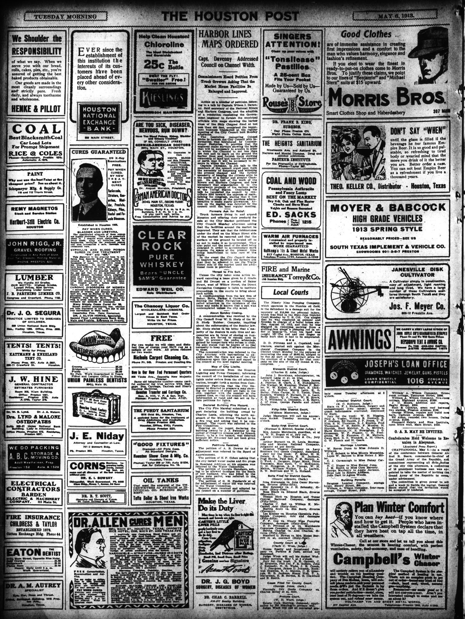 The Houston Post Houston Tex Vol 28