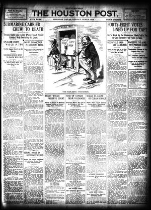 Primary view of object titled 'The Houston Post. (Houston, Tex.), Vol. 27, Ed. 1 Sunday, June 9, 1912'.