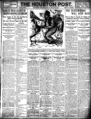 Primary view of object titled 'The Houston Post. (Houston, Tex.), Vol. 25, Ed. 1 Sunday, May 23, 1909'.