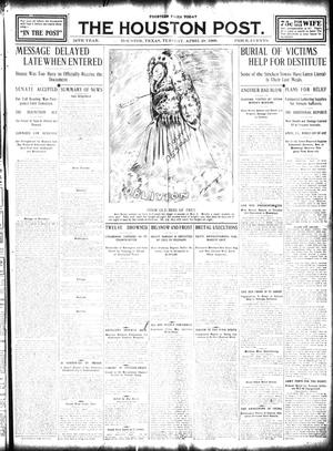Primary view of object titled 'The Houston Post. (Houston, Tex.), Vol. 24, Ed. 1 Tuesday, April 28, 1908'.