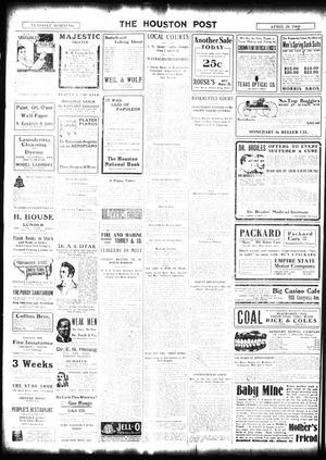 The Houston Post  (Houston, Tex ), Vol  24, Ed  1 Tuesday, April 28