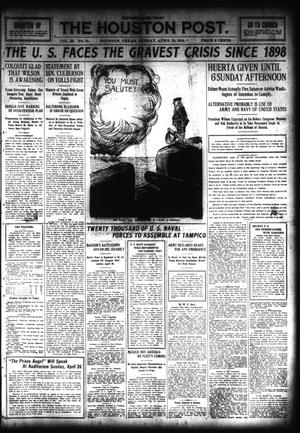 Primary view of object titled 'The Houston Post. (Houston, Tex.), Vol. 28, Ed. 1 Sunday, April 19, 1914'.