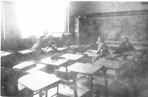 Primary view of object titled 'Hurst School Classroom'.