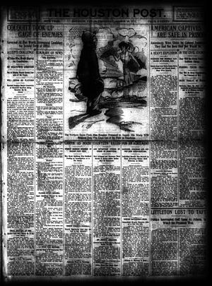 Primary view of object titled 'The Houston Post. (Houston, Tex.), Vol. 26, Ed. 1 Thursday, March 16, 1911'.