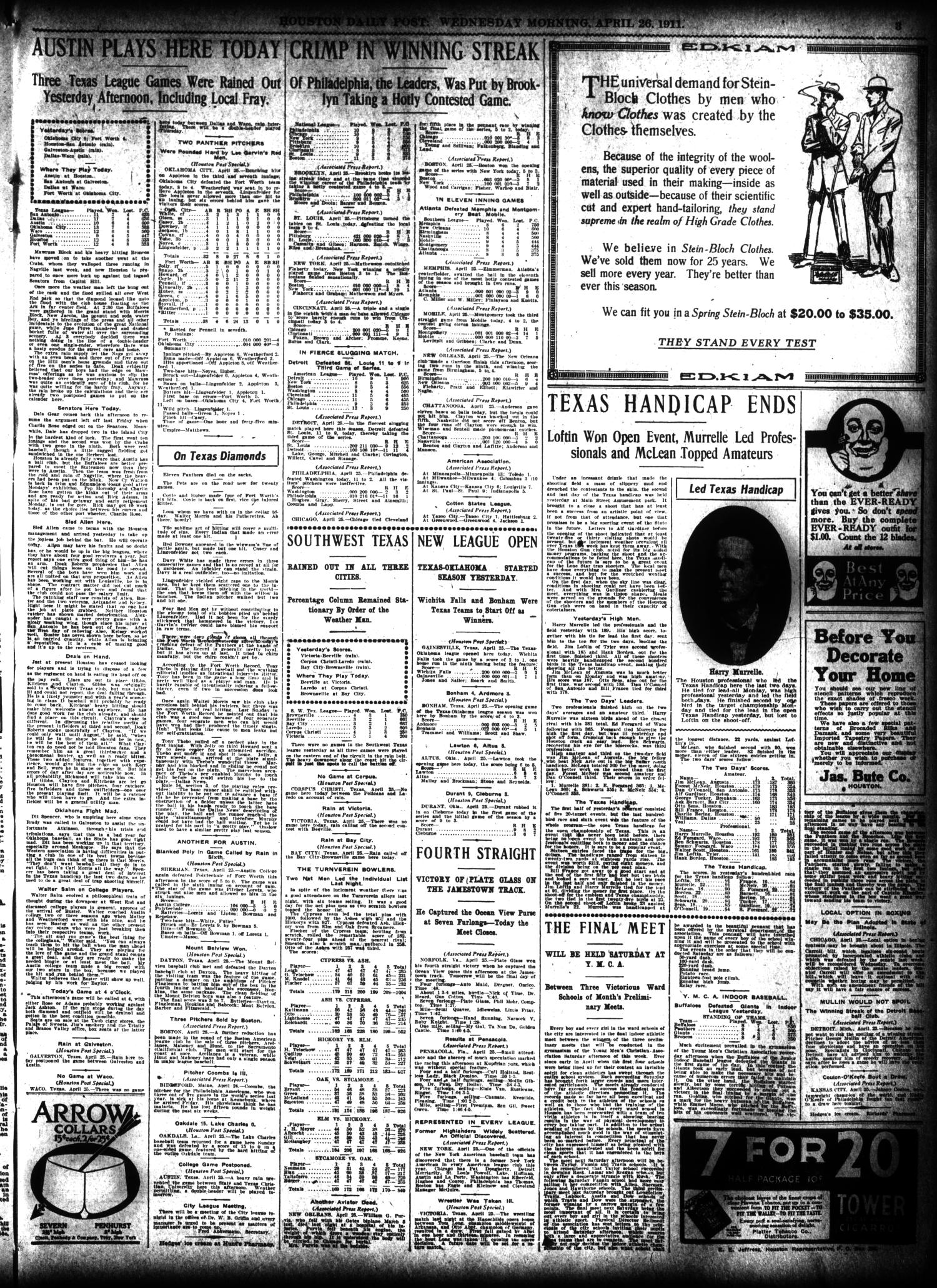low price sale hot sale online newest collection The Houston Post. (Houston, Tex.), Vol. 27, Ed. 1 Wednesday ...